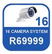 16 Camera IP system