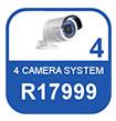 4 Camera IP system