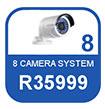 8 Camera IP system